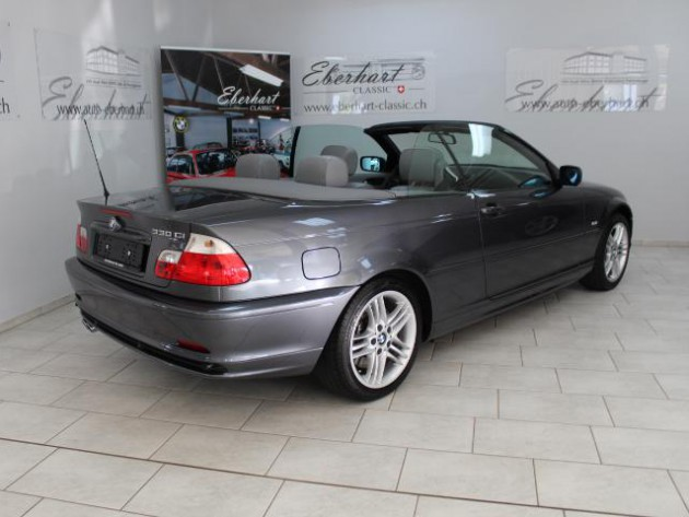 bmw 330ci cabrio e46 automobil klassiker old. Black Bedroom Furniture Sets. Home Design Ideas